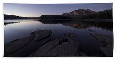 Twilight On Silver Lake Beach Sheet