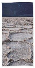 Twilight On The Salt Flats Beach Towel