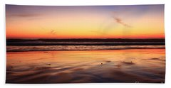 Cardiff By The Sea Glow Beach Towel