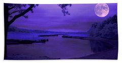 Twilight Zone Beach Towel by Robert McCubbin