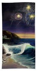 Twilight's Last Gleaming Beach Sheet by Jack Malloch