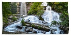 Twin Falls Flows Forth Beach Towel