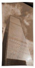 Twin Tower Beach Towel