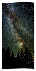 Twinkle Twinkle A Million Stars  Beach Towel by Wes and Dotty Weber