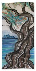 Twisted Tree Beach Towel