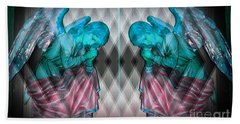 Two Angels Beach Towel