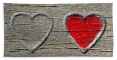 Two Hearts Beach Sheet