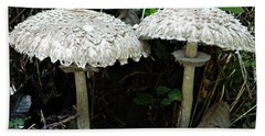 Two Magnificent Toadstools Beach Sheet