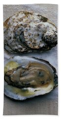 Two Oysters Beach Towel