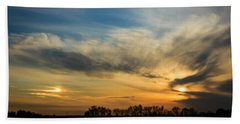 Two Suns Over Kentucky Beach Towel