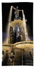 Fx9u-1250 Tyler Davidson Fountain Photo Beach Sheet