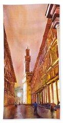 Uffizi- Florence Beach Towel