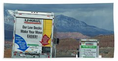 Uhaul On The Move Beach Towel