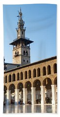 Umayyad Mosque In Damascus Syria Beach Towel