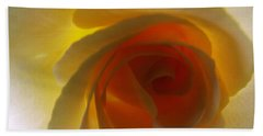 Beach Towel featuring the photograph Unaltered Rose by Robyn King