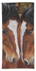 Unbridled Affection Beach Towel