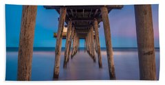 Under The Pier - Wide Version Beach Towel