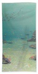 Under The Sea Beach Sheet by Pamela  Meredith