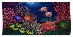 Undersea Creatures Vi Beach Sheet