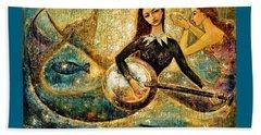 Undersea Beach Sheet by Shijun Munns