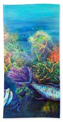 Jesus Reef  Beach Towel