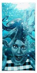 Underwater Nightmare Beach Towel
