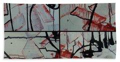 Beach Sheet featuring the photograph Unfaithful Desire Part One by Sir Josef - Social Critic - ART