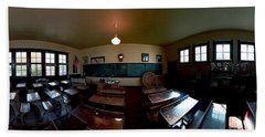Union  Illinois One Room School House Beach Sheet
