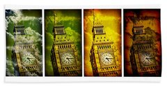 United Colors Of Big Ben Beach Sheet by Stephen Stookey