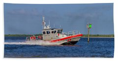 United States Coast Guard Beach Towel