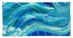 Universal Waves Beach Towel