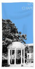 University North Carolina Chapel Hill - Light Blue Beach Towel