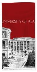 University Of Alabama #2 - Dark Red Beach Towel