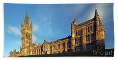University Of Glasgow Beach Towel