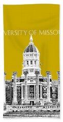 University Of Missouri - Gold Beach Towel