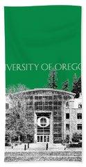 University Of Oregon - Forest Green Beach Towel