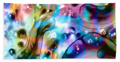 Molecules And Mankind Beach Towel