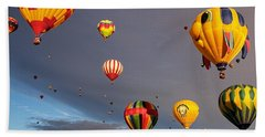Beach Towel featuring the photograph Up And Away by Dave Files