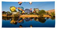 Balloons Beach Sheet