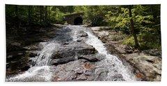 Upper Chapel Brook Falls Beach Towel