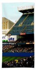 Upper Deck  The Yankee Stadium Beach Towel