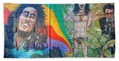 Urban Graffiti 1 Beach Sheet