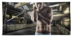 Urban Hunk 1.0 Beach Towel