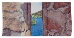 Archers' Window Urquhart Ruins Loch Ness Beach Sheet