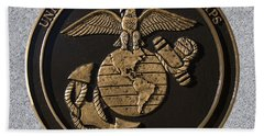Us Marine Corps Beach Towel