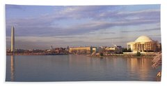 Usa, Washington Dc, Tidal Basin, Spring Beach Towel by Panoramic Images