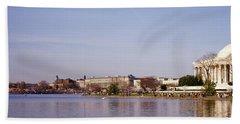 Usa, Washington Dc, Washington Monument Beach Towel