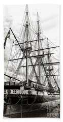 Uss Constellation Beach Towel