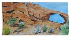 Utah - Arches National Park Beach Sheet