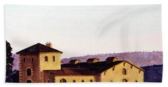 V. Sattui Winery Beach Towel by Mike Robles